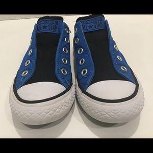 Blue Converse All Stars, Size 13